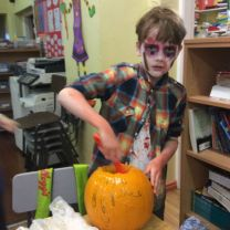 P.7 Pumpkin Making