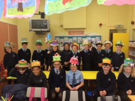 P7 getting in the Easter mood.
